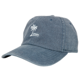 Ladies Palm Logo hat - Weathered Blue