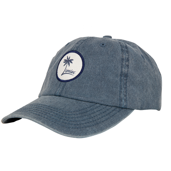 Palm Logo Hat - Weathered Blue