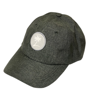 Palm Patch Performance Hat - Chambray Grey