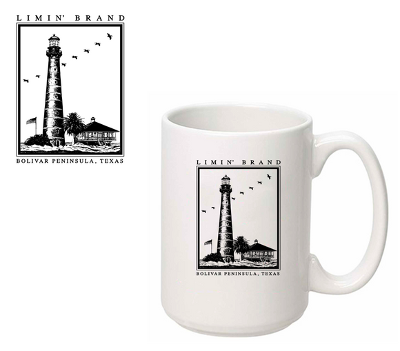 Bolivar Point Lighthouse Coffee Cup