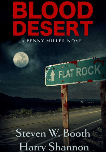 Blood Desert - A Penny Miller Novel