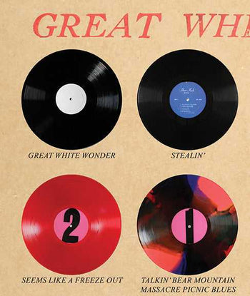 Great White Wonder Discography Poster