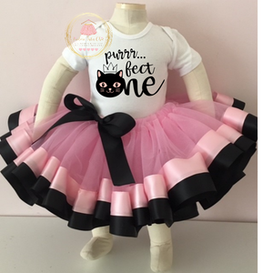 Cat birthday outfit, Kitty cat birthday onesie, Cat birthday shirt