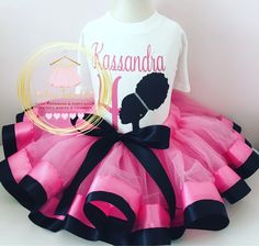 Afro barbie birthday outfit, Afro barbie birthday tutu, Afro barbie birthday dress