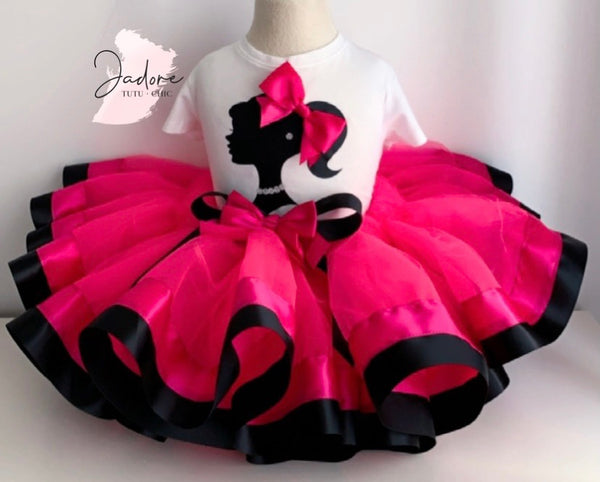 Barbie birthday tutu outfit