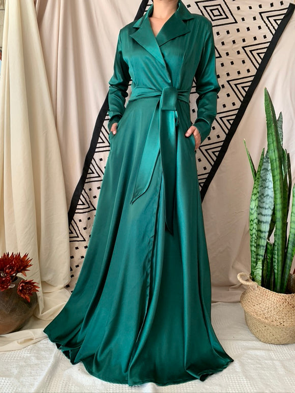 X-Over Empire Maxi Dress
