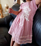 Crochet Detailed Swing Dress