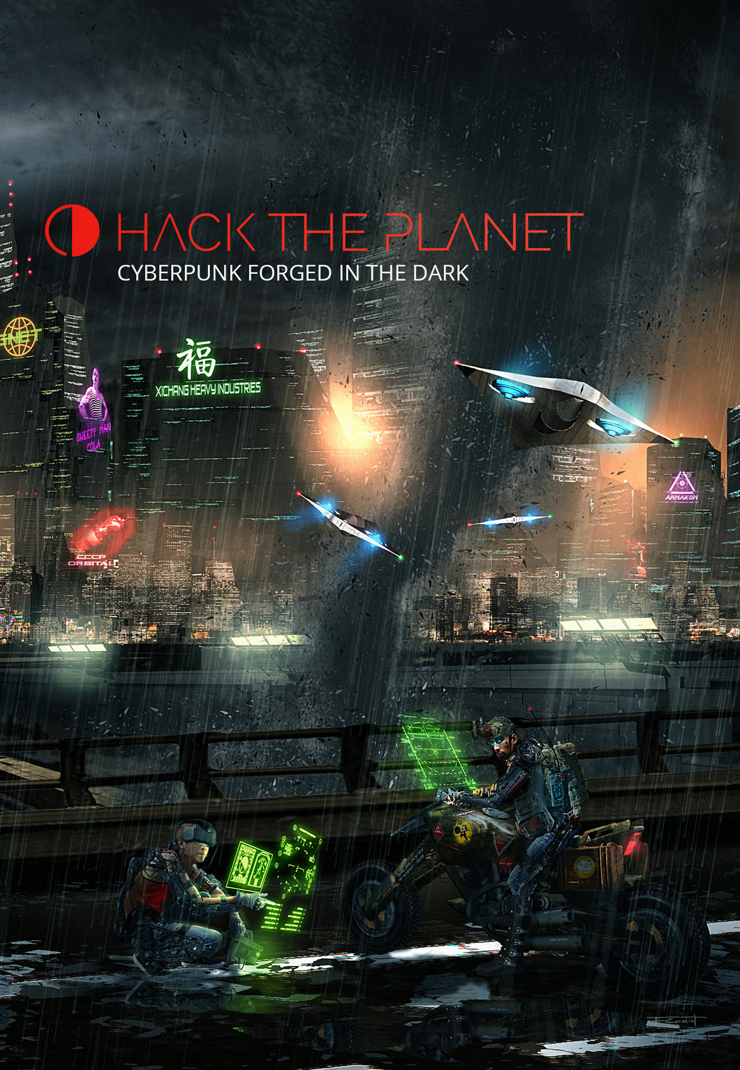 hack the planet cover
