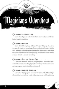 Magicians: Language Learning RPG (Softcover + PDF Book)