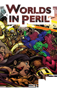Worlds in Peril: Superhero Roleplaying Powered by the Apocalypse (Hardcover + PDF Book)