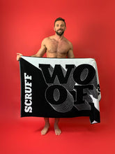 Load image into Gallery viewer, SCRUFF x Nasty Pig 'WOOF' Towel