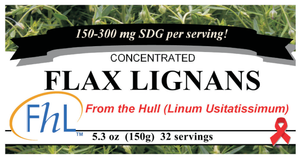 Three Jar Special - Original FHL Flax Hull Lignans Immune System Super Charger