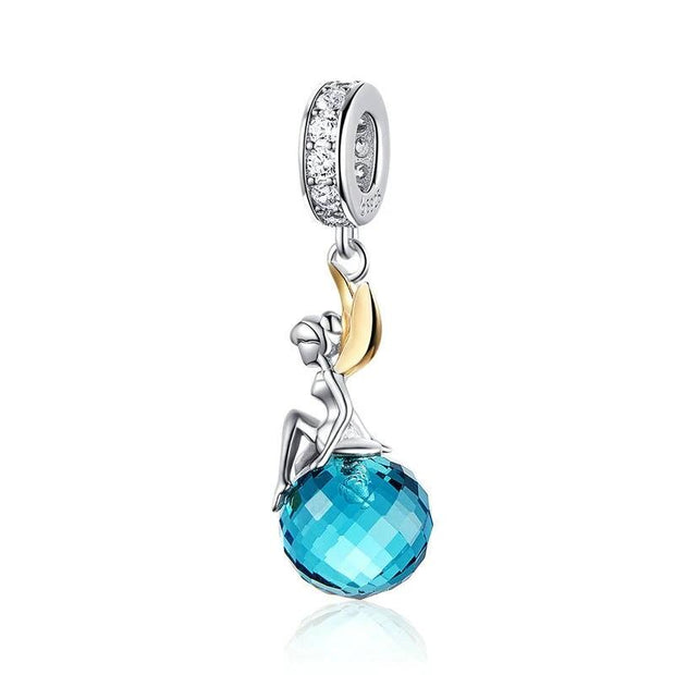 Fairy Blue Zircon Pendant
