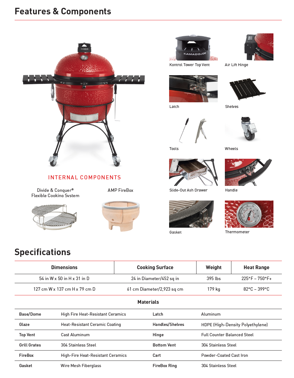 Kamado Joe® Big Joe II