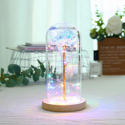 Eternal Rose Led Night Lamp - Blumellon