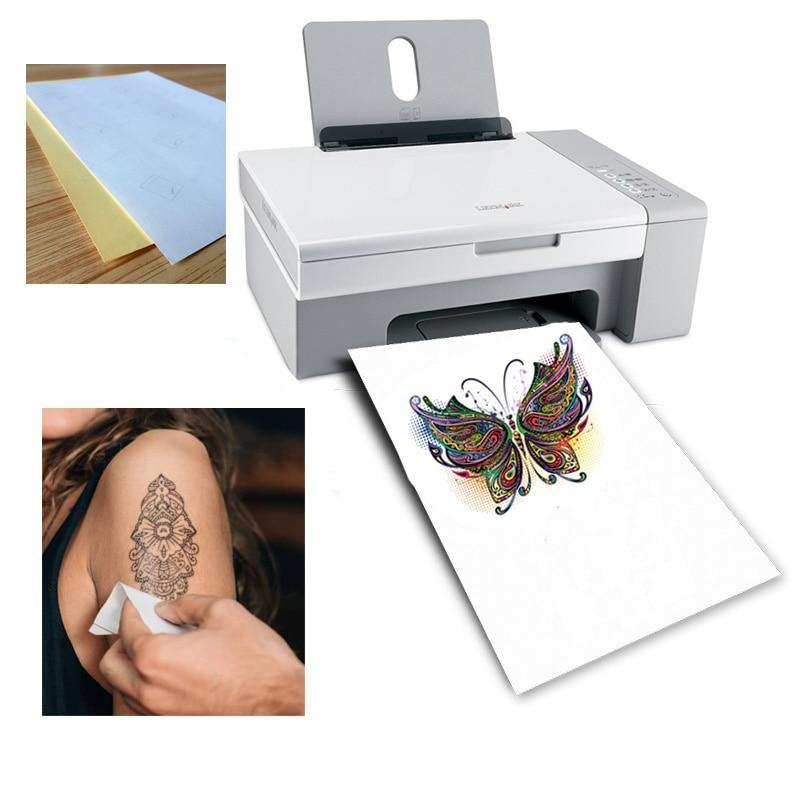 Do it yourself Water Tattoo Paper