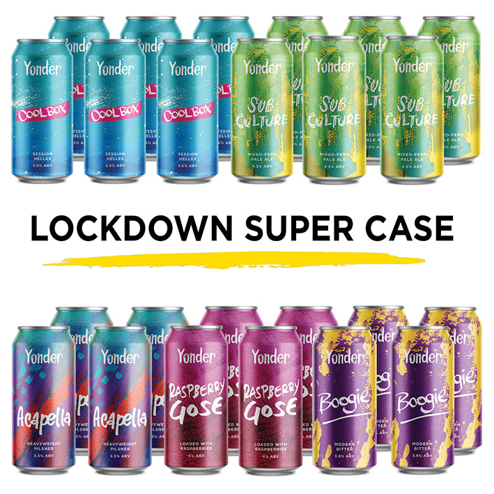 Lockdown Super Case - 24 x 440ml cans