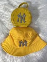Mommy and Me Purse & Bucket Hat Set