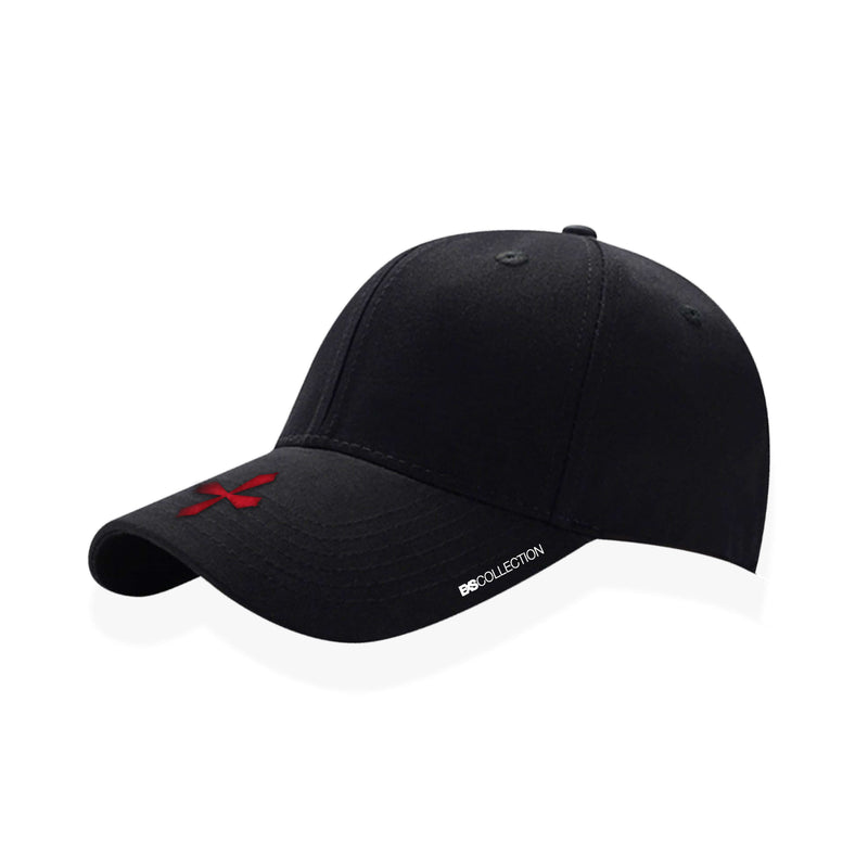 REGULAR HAT RED/BLACK