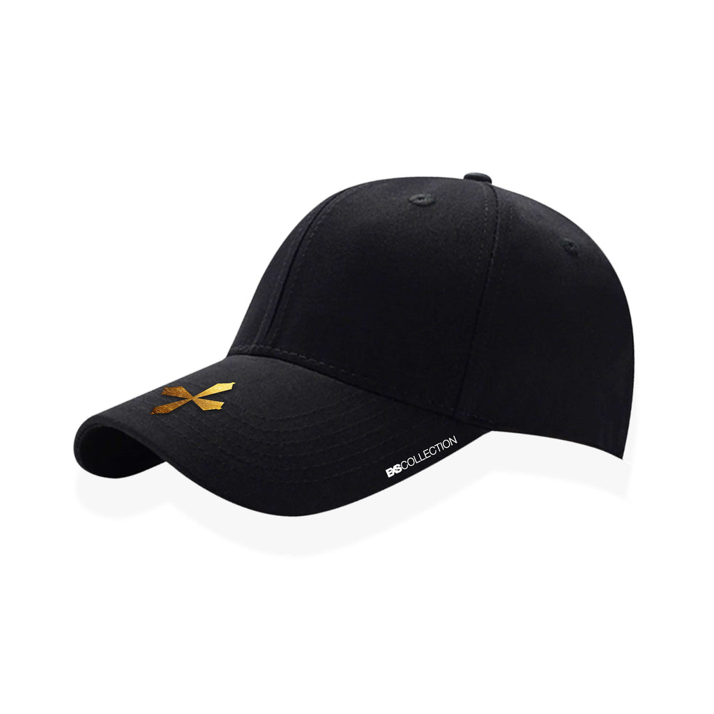 PREMIUM HAT BLACK/GOLD 24KT