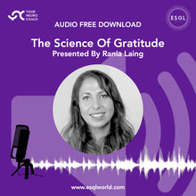 Load image into Gallery viewer, Audio - The Science Of Gratitude - Free Download MPEG 4