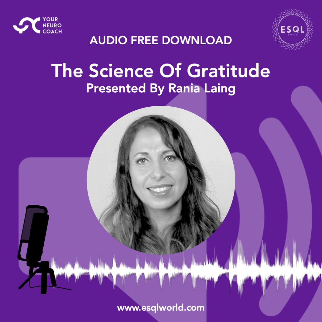 Audio - The Science Of Gratitude - Free Download MPEG 4
