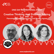 Load image into Gallery viewer, Creative Thinking and Problem Solving - One Day Inspirational Event
