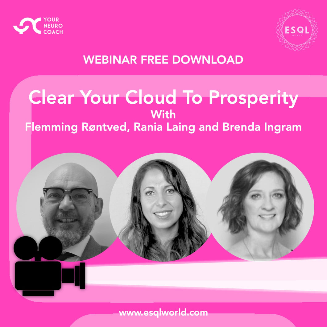Webinar - Clear Your Cloud To Prosperity - Free Download MPEG 4