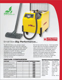 MR-750 Ottimo, Commercial Grade (Light Duty) Steam Cleaner