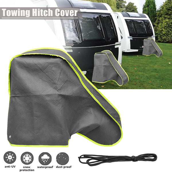 92*47*62cm Waterproof Caravan Tailer Towing Hitch Coupling Lock Cover Dustproof for RV Truck