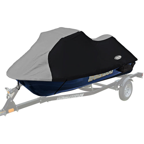 210D PU coated Oxford polyester jet ski cover,PWC Size:L 115-135