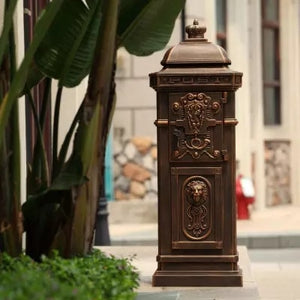 Vertical Porch Mailbox