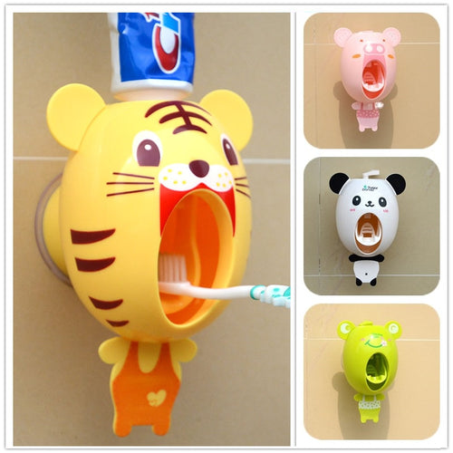 Cartoon Toothpaste Dispenser