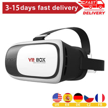 Load image into Gallery viewer, 4.7-6inch Mobile Phone VR Polarize Glasses Box Movie 3D Goggles Headset Helmet Including User Manual