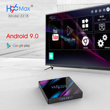 Load image into Gallery viewer, 2020 H96 MAX RK3318 Smart TV Box Android 9 9.0 4GB 32GB 64GB 4K Youtube Media player H96MAX TVBOX Android TV Set top box 2GB16GB