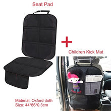 Load image into Gallery viewer, 123*48cm Oxford PU Leather Car Seat Protective Mats Child Baby Pads Auto Seat Protector Mat For Baby Kids Protection Cushion