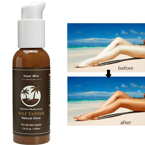 100ml Suntan Cream Beach Tanning Tanning Day Tanner Lotion  Protect Cream Natural Bronzer Sunscreen