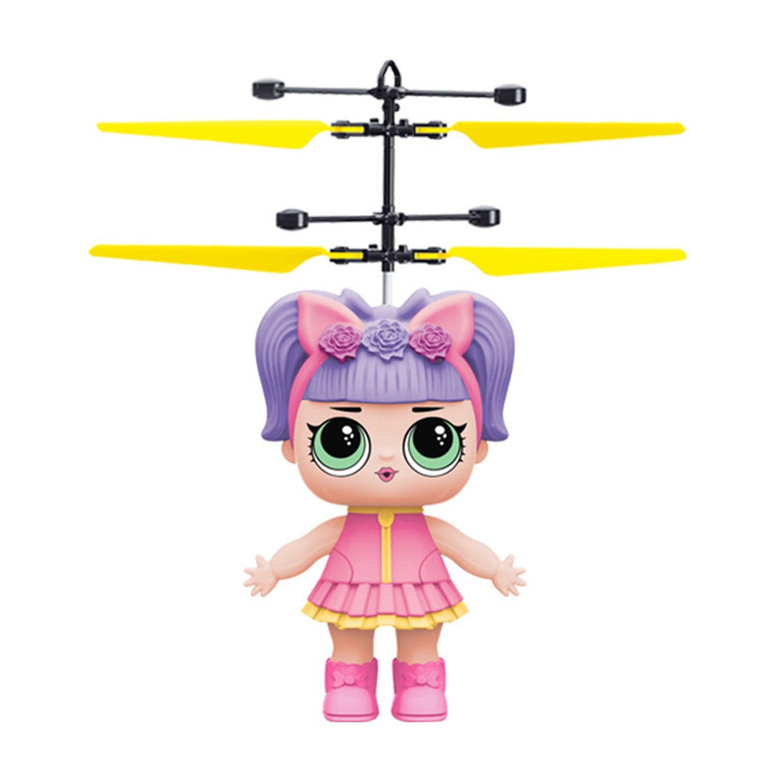 Mini Drone Flying Hand-controlled Girl RC Helicopter Gifts