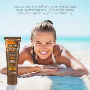TheFUN Tan™ Beauty Black Cream Body Lotion Black Nutrition Moisturizing Sunscreen Tanning Black Nutrition Skin Helping Suntan