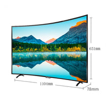 Load image into Gallery viewer, Tv 50 inch 4K Smart TV sets curved screen Android 7.0 digital TV LED TV