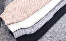 Load image into Gallery viewer, Cardigan  Sweaters Tops Women  2020 Autumn New Knit Loose Casual Solid Color V-neck Lantern Sleeves bat Sleeves  Button Jacket