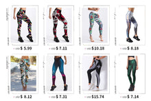 Load image into Gallery viewer, Digital Printed Leggings