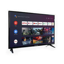 "Load image into Gallery viewer, Hot Sale Smart Tv LEVEL Google 32 Inch 31-39"" Tv HDMI 1.4a Android 9.0 Of Hd Voice Control Led Television Energy Class A"