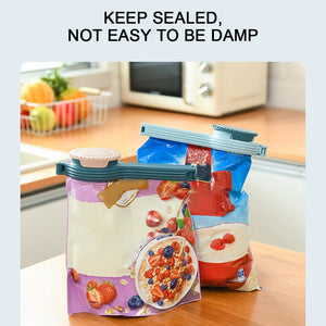 Seal Pour Food Storage Bag Clips