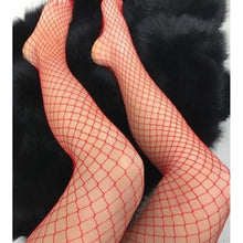 Load image into Gallery viewer, Hollow Net Body Fishnet Party Socks