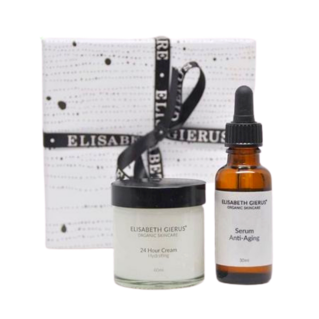 24 Hour Day Cream & Serum Anti-Aging Set