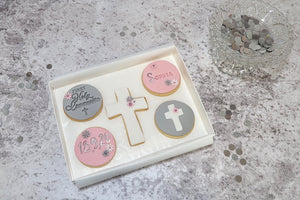 Holy Communion Cookie Gift Box for girl