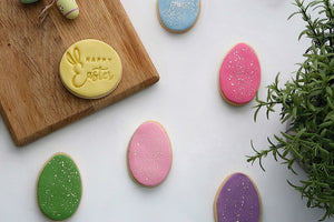 Easter Egg Cookies, Decorated Easter Egg Cookies, Happy Easter Cookies