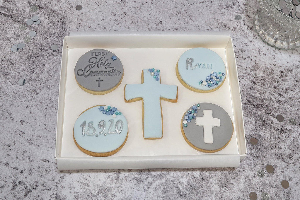 Holy Communion Cookie Gift Box for Boy