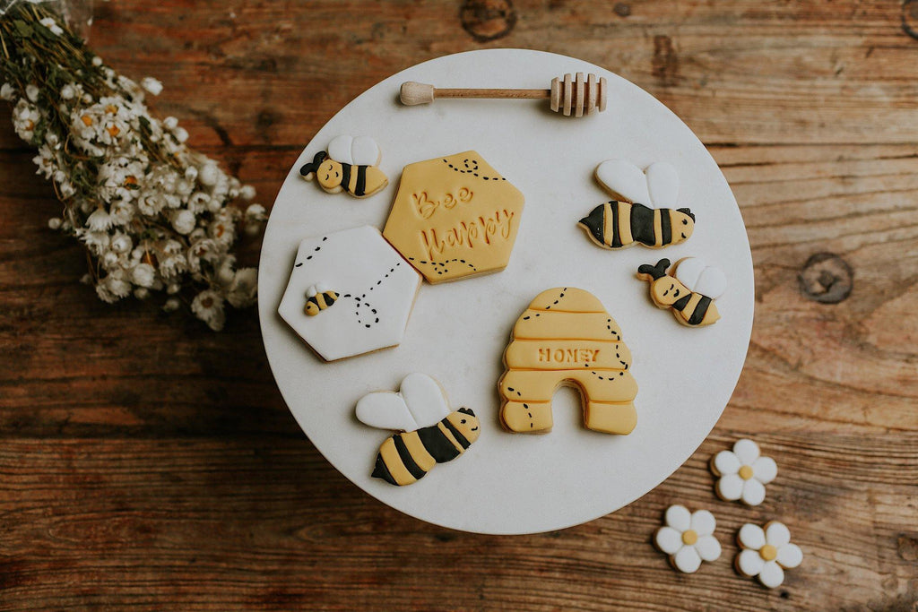 Bee Themed Gift, Bee Happy Cookie Gift box